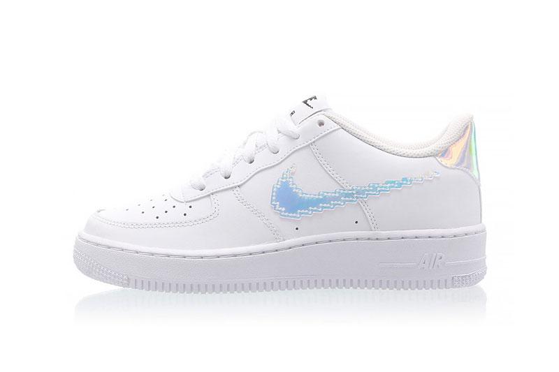 """Nike's Air Force 1 """"Digital Swoosh"""""""