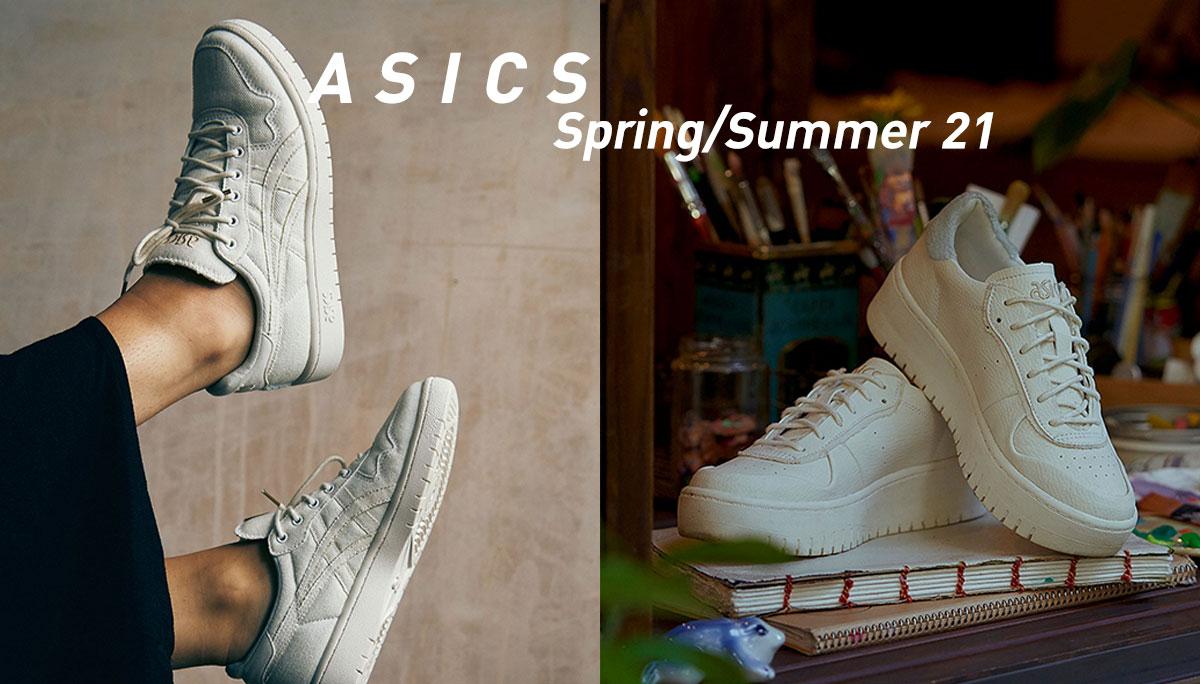 ASICS รองเท้า สนีกเกอร์