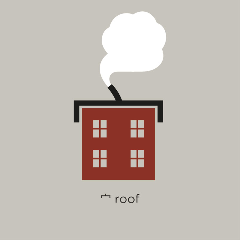 roof หลังคา