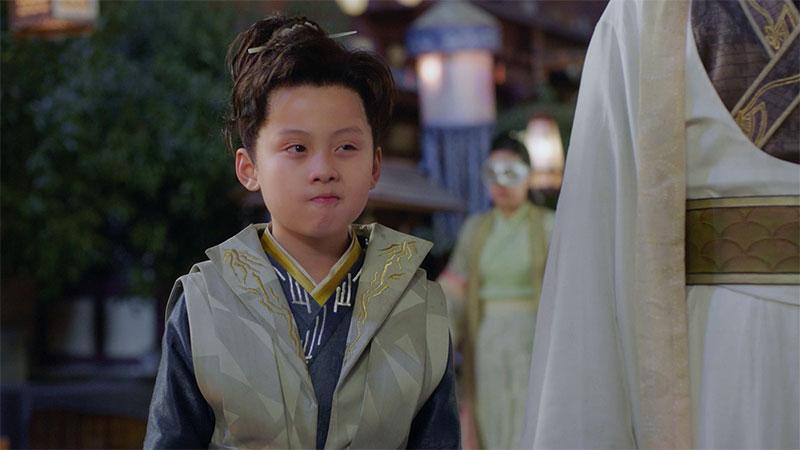 """""""จางจื่อหาน"""" ในซีรีส์ """"Qing Luo อลหม่านรักหมอหญิงชิงลั่ว"""""""