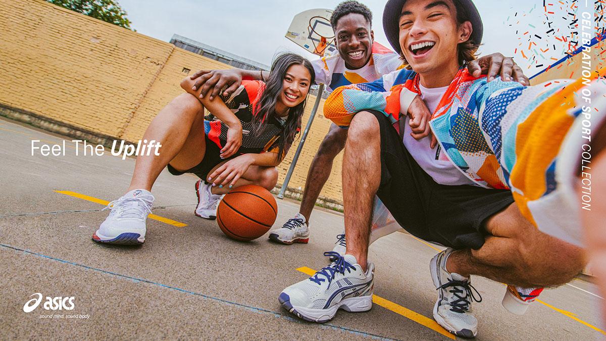 ASICS Sneaker รองเท้า สนีกเกอร์ โอลิมปิก