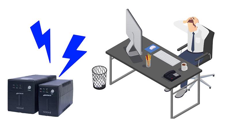 3 เหตุผลที่ควรใช้ เครื่องสำรองไฟฟ้า UPS ในสำนักงาน