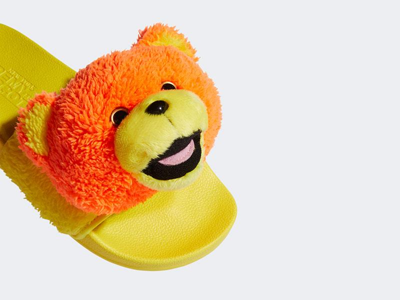 รองเท้าแตะ หัวตุ๊กตาหมีเท็ดดี้ JS ANIMAL WORLD