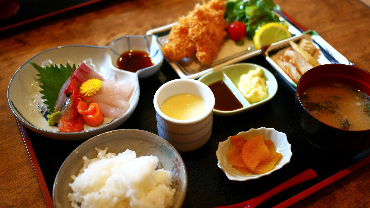 ญี่ปุ่น อาหาร อาหารญี่ปุ่น